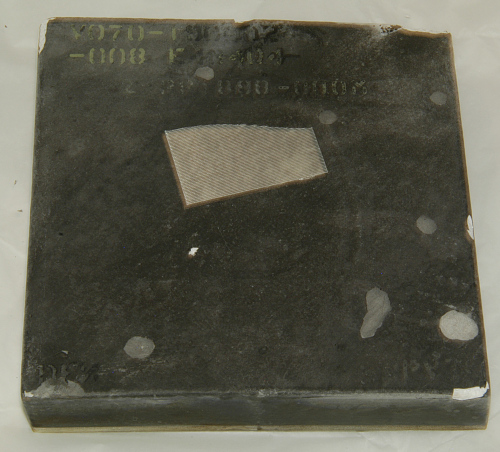 Tile, Shuttle Insulation, Black, STS-9