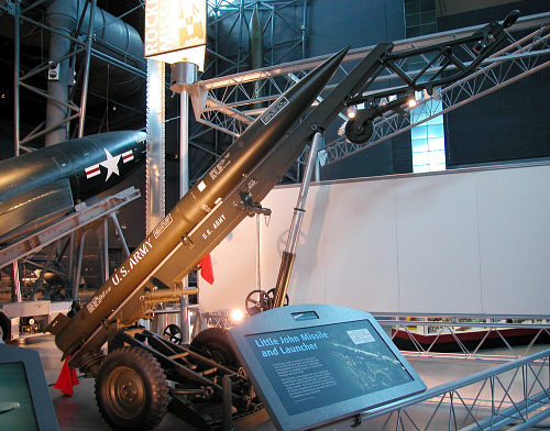Missile, Surface-to-Surface, Little John, and Launcher