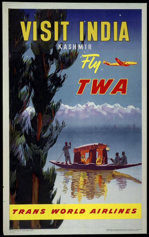 Visit India Kashmir Fly TWA