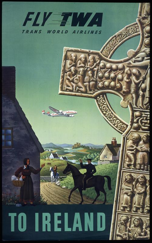Fly TWA to Ireland