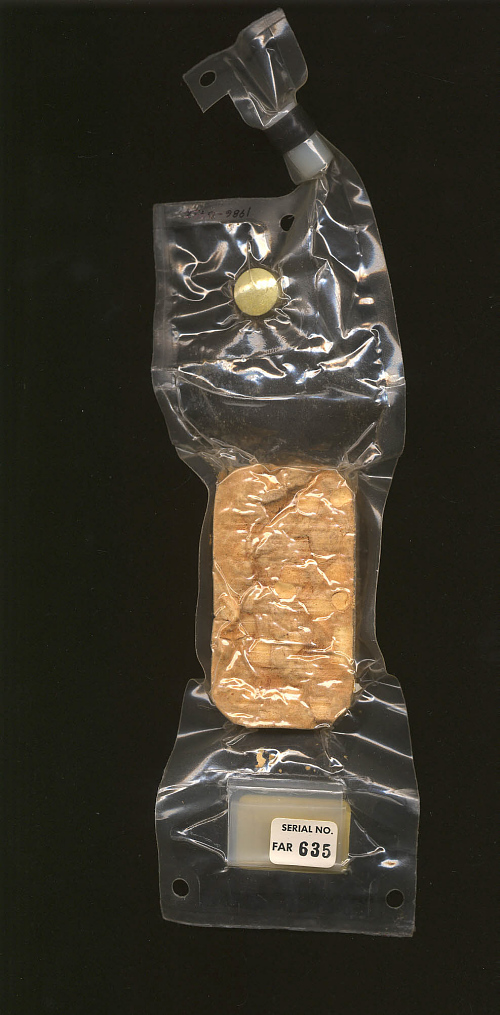 Space Food, Beef with Vegetables, Apollo 11 (White)