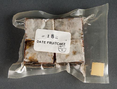 Space Food, Date Fruitcake, Apollo 11 (White)