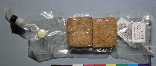 Space Food, Sausage Patties, Apollo 16 (White)