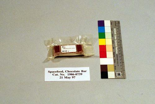 Space Food, Chocolate Bar, Apollo 16 (Blue)