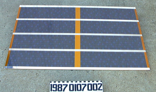 Solar Panel, Satellite, Infrared, IRAS, Replica