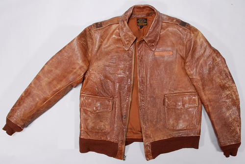 Jacket, Flying, Type A-2, United States Army Air Forces, Gen. Charles E. Yeager