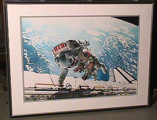 Dale A. Gardner, Space Shuttle Mission 51-a