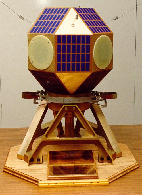 Model, NUSAT 1 Satellite