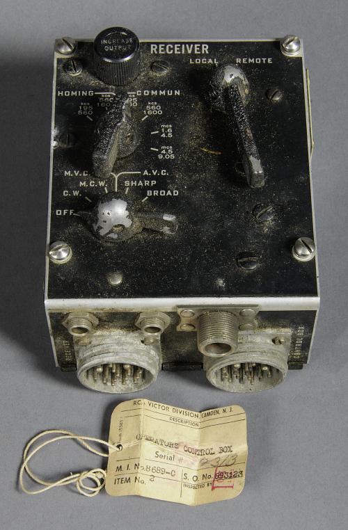 Operators Control Box, Radio, USN, ARB