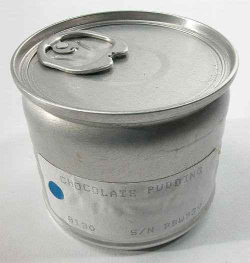Space Food, Chocolate Pudding, STS-27