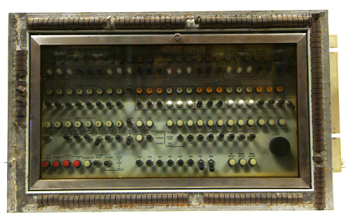 Control Panel, Computer, Saturn Launch, RCA 110a