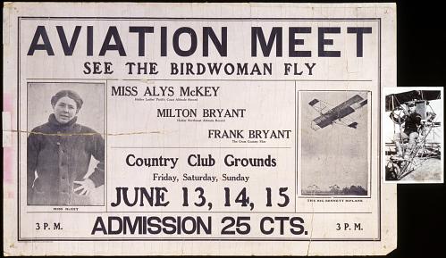 Aviation Meet See the Birdwoman Fly