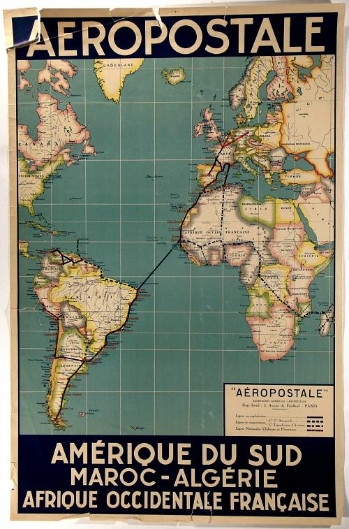 Aéropostale Amérique du Sud Maroc-Algerie Afrique Occidentale Francaise