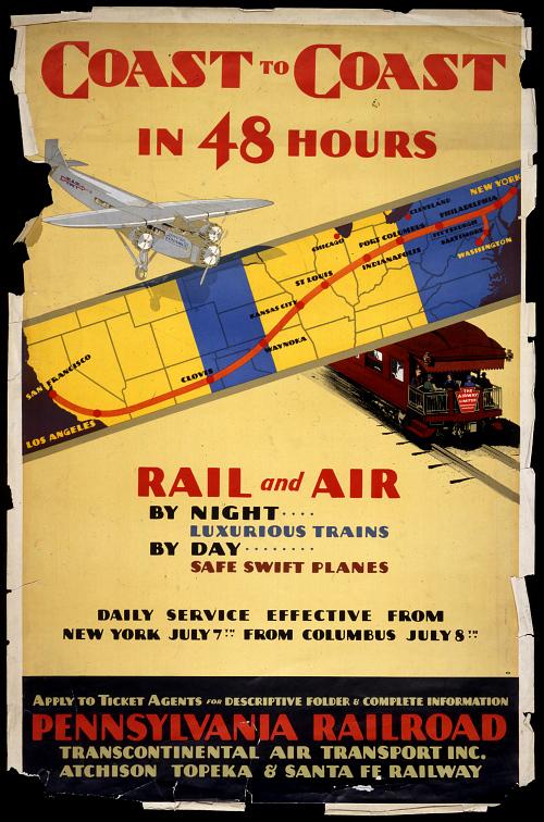 Pennsylvania Railroad Coast to Coast in 48 Hours