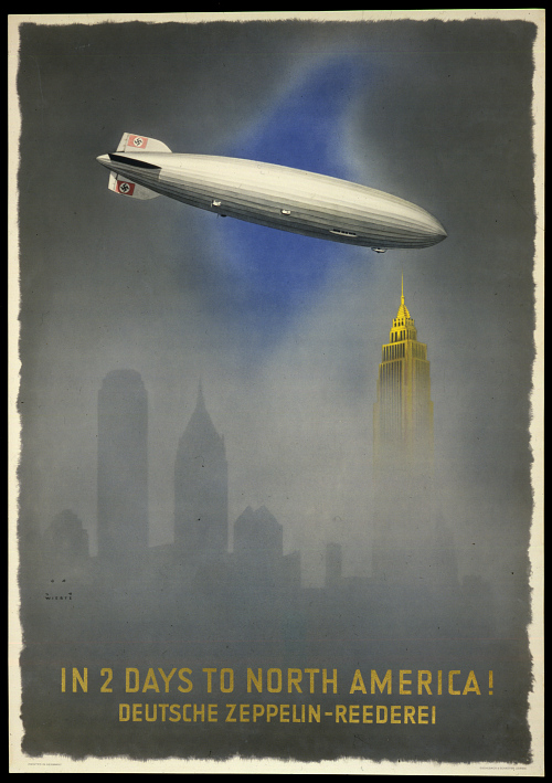 Deutsche Zeppelin-Rederei In 2 Days to North America!