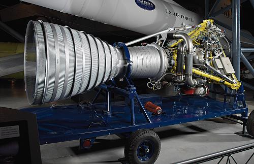 Rocket Engine, Liquid Fuel, S-3, for Jupiter Missile