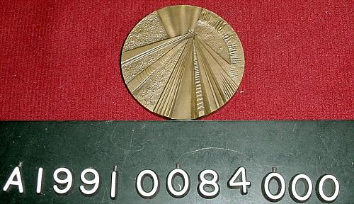 Medal, Bronze, Interkosmos