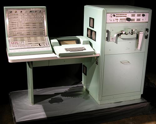 Input-Output Console, UNIVAC 1232, for a UNIVAC 1230 computer