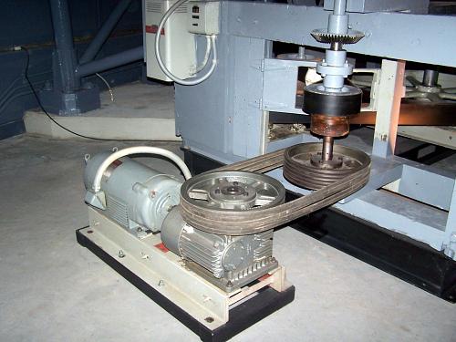 Drive Motor, Mirror Grinding Machine, G. W. Ritchey