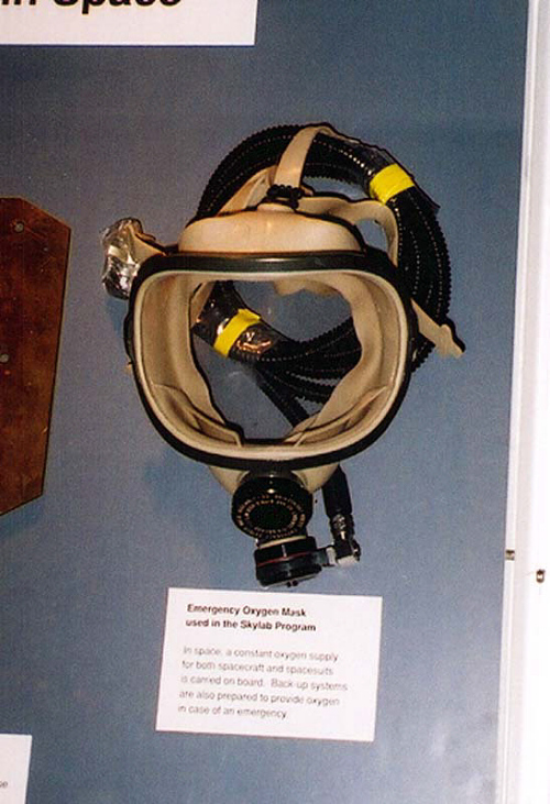 Oxygen Mask, Emergency, Skylab