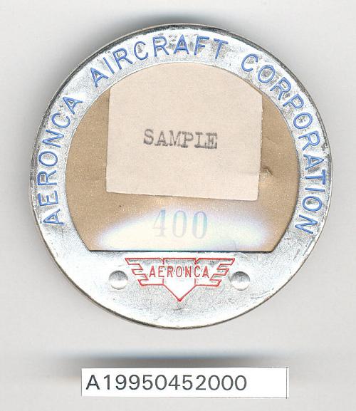 Badge, Identification, Aeronca Aircraft Corp.