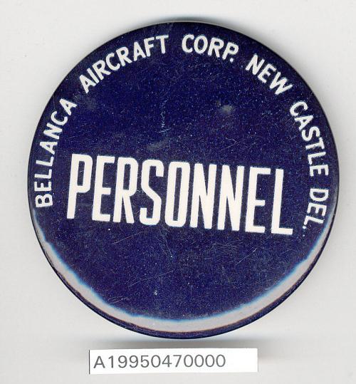 Badge, Identification, Bellanca Aircraft Corp.