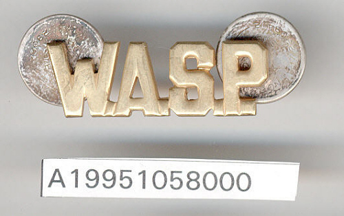 Insignia, Collar, Women Airforce Service Pilots (WASP)