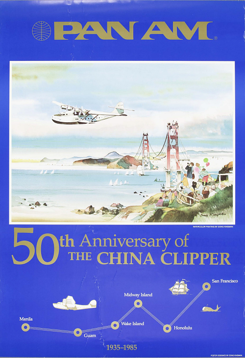 Pan Am 50th Anniversary of the China Clipper