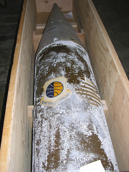 Rocket, Sounding, Aerobee 350, Nose Cone and Thrust Structure