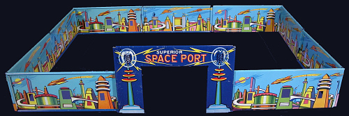 Wall Segment, Toy, Captain Video, Superior Space Port
