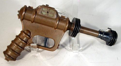 Toy, Ray Gun, Buck Rogers, XZ-38 Disintegrator Pistol