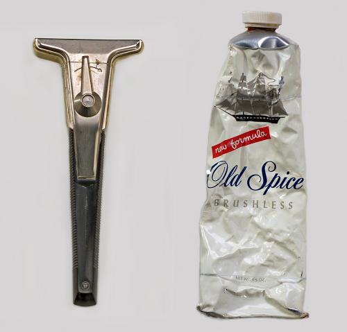 Razor and Shaving Cream, Apollo 11