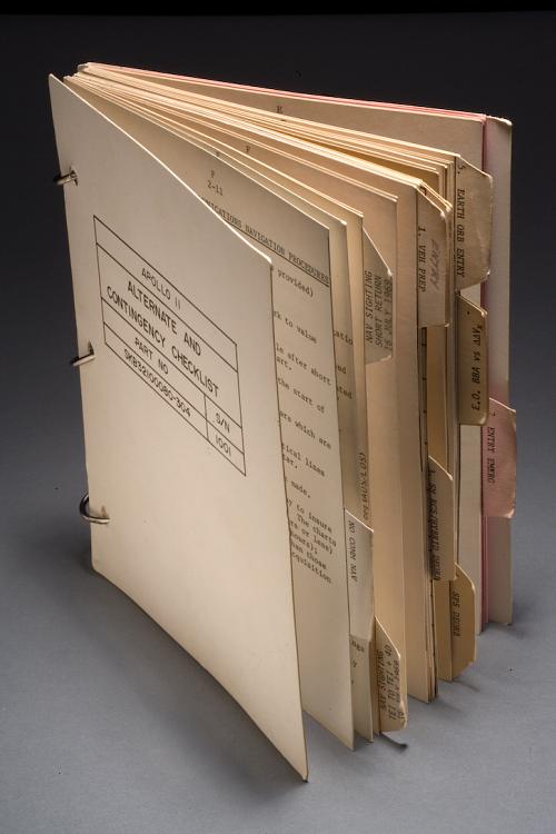 Checklist, Alternate and Contingency, Apollo 11