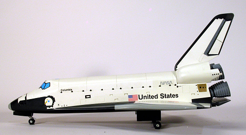 Model, Space Shuttle Orbiter, Columbia, 1:50