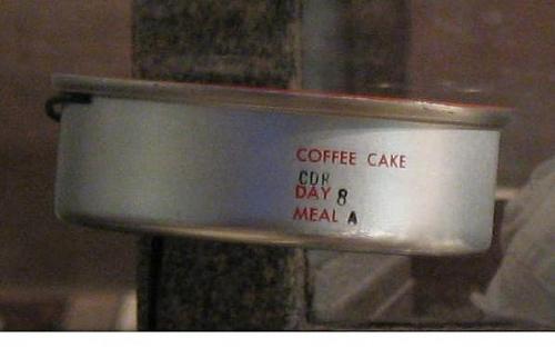 Space Food, Coffee Cake, Skylab