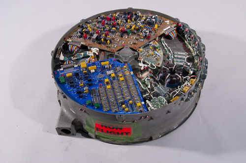 Momentum Wheel Assembly, Communications Satellite