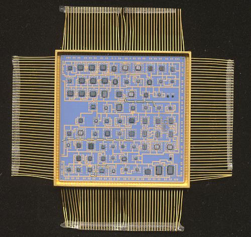 RIU Command FIFO, Microelectronic Hybrid, Milstar Communications Satellite