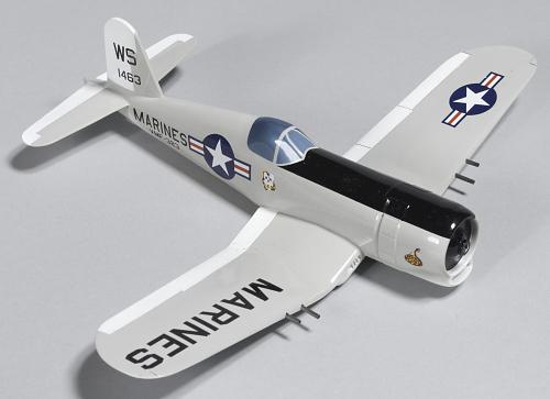 Model, Static, Vought AU-1