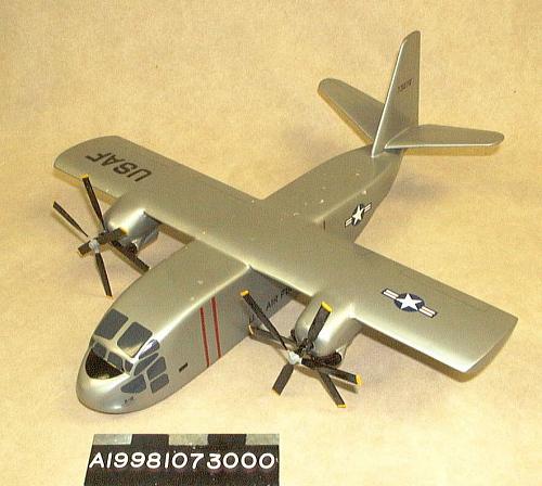 Model, Static, Hiller X-18, 1/36 scale