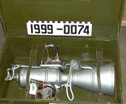 Rocket Engine, Liquid Fuel, RD-107 Attitude Control Engine