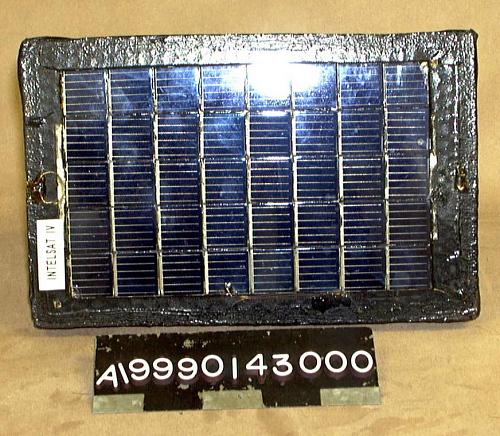 Solar Cell Test Panel, Intelsat IV