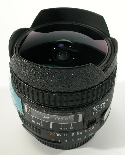 Lens, 16mm Fisheye, Nikon, STS-95