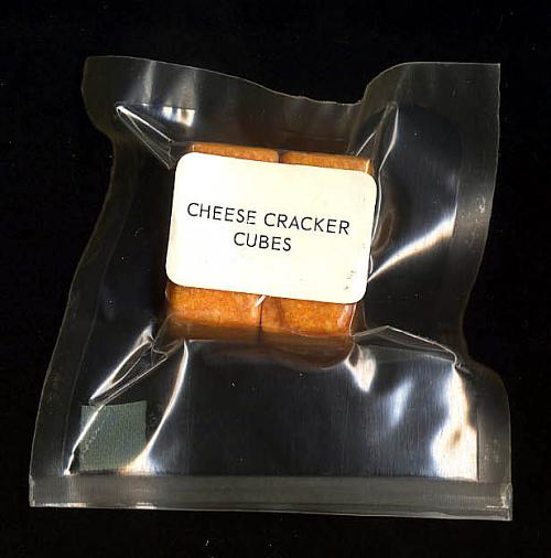 Space Food, Cheese Cracker Cubes, Apollo (Blue)