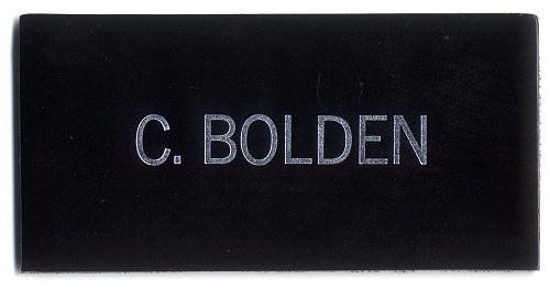 Name Tag, Shuttle Astronaut (Bolden)