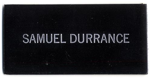 Name Tag, Shuttle Astronaut (Durrance)