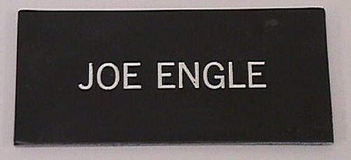 Name Tag, Shuttle Astronaut (Engle)