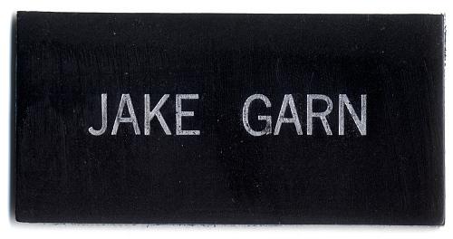 Name Tag, Shuttle Astronaut (Garn)