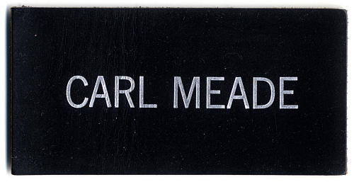 Name Tag, Shuttle Astronaut (Meade)