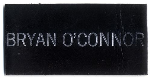 Name Tag, Shuttle Astronaut (O'Connor)