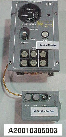 Sextant Controller, Inertial Measurement Unit, Apollo Guidance/Navigation System